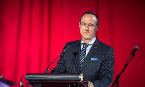 Jean-François Champagne, Président de l'AIA Canada.