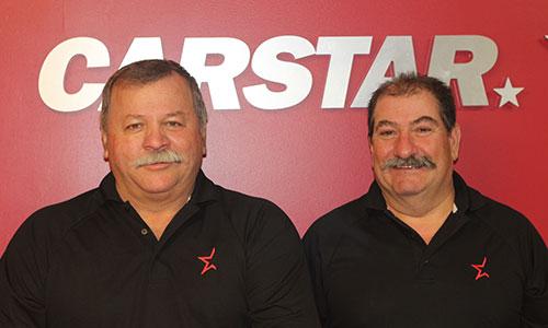 André DeBellefeuille et Denis Fontaine, deux carrossiers d'expérience et associés depuis 17 ans.