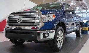 Le Toyota Tundra 2015 est le deuxième véhicule le plus volé au Québec.